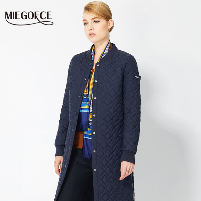 Spring Women Coat European Style Women Jackets Parkas and Coats 2017 New Designs MIEGOFCE Thin Female Parka Women Jackets hot