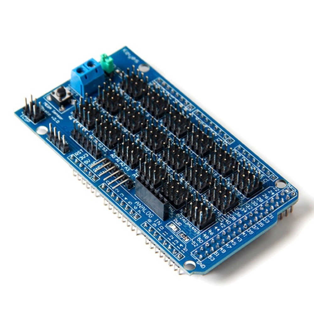 Free Shipping Mega Sensor Shield V1 0 V2 0 Dedicated Sensor Expansion Board For Arduino Mega