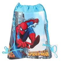 CM418 2015 new Kids Cartoon Printed Drawstring Bag 36cm 28cm children s spider man school bags