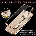 2016 New bumper on for iPhone 5s Cover aluminum + acrylic accessories the border protective glass on the iPhone 5s Cases