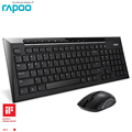 Rapoo Wireless Keyboard Mouse Set Kit MultiMedia wireless keyboard and mouse for Computer Android Smart TV