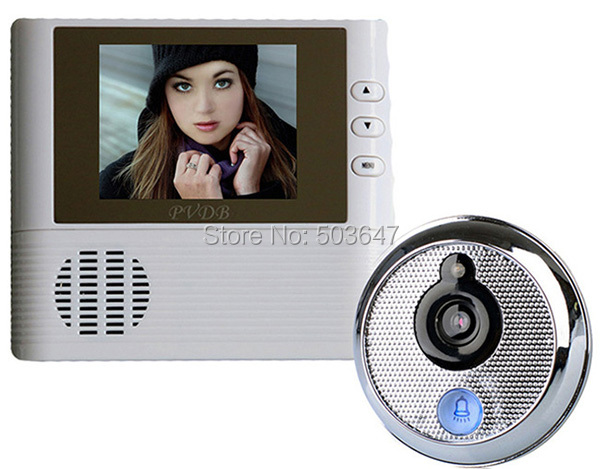 Cheapest Digital Peephole Door Viewer Infrared motion detection Video Camera Eye doorbell alarm,taking photos function - Shenzheng hezhong electronics technology Co.,Limited store