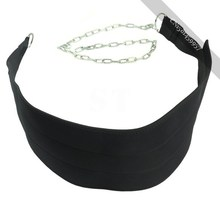 gorgeous Black Dipping Belts Weight Lifting Gym Dip Belt Mesh With Metal Chain