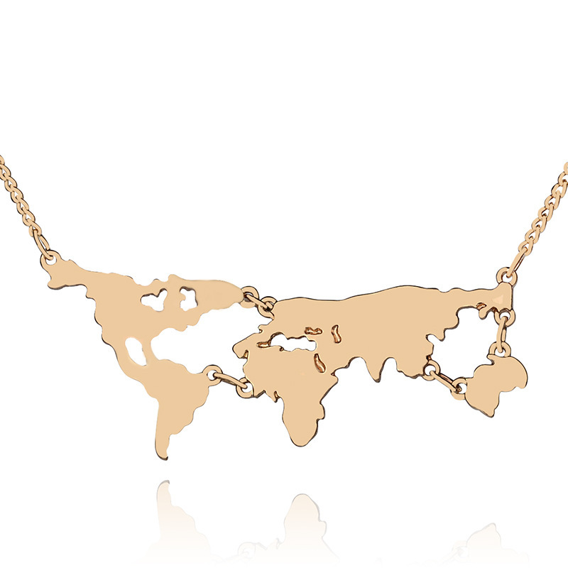 Online Buy Wholesale africa continent necklace from China africa continent ne
