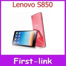 Оригинальный Lenovo S850 четырехъядерных процессоров 5 дюймов IPS экран Android 4.4 две сим-камера 13.0MP камера 1 ГБ оперативной памяти 16 ГБ ROM сотовый телефон бесплатная доставка(China (Mainland))