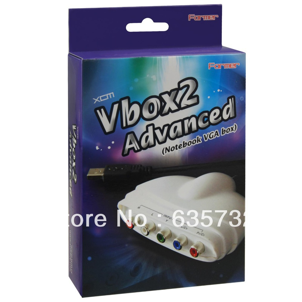 XCM Vbox 2 Advanced Video Streaming for PC for Xbox 360 for PSP 3000 for PS3 Slim for Wii(Hong Kong)