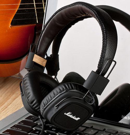 Marshall Major Rock Style Studio Headphone Leather Headset Noise Cancelling Deep Bass DJ HiFi Earphone With Remote FX50 FX 50(China (Mainland))