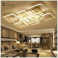 Modern Chandelier Led For Living room Bedroom Restaurant Lamp LED Ceiling Chandeliers Lighting 10 15 square