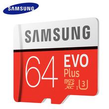 Buy New Arrival Top SAMSUNG Micro SD Memory Card 64GB EVO+ Class10 Waterproof TF Memoria Sim Card C10 SDXCUHS-1 Smart phones for $27.31 in AliExpress store