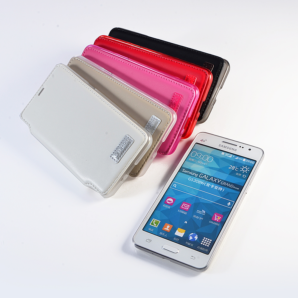 Samsung Galaxy Grand Prime G5308W SM-G530H G530 Flip PU Leather Case Cell Phone - Yimao Trade cellphone accessories store