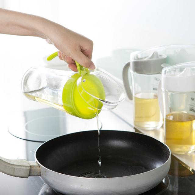 620 МЛ Стекло Специй Банку герметичность Масленка Соевый Соус Бутылки Бытовая Посуда Для Кухни