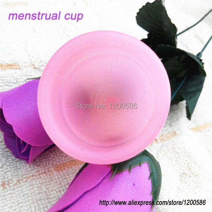 menstrual cup for women feminine hygiene product medical grade silicone small or big size for pick OPP bag packing free shipping
