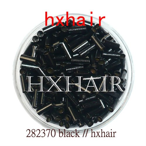 Freeshipping - 1000pcs 2.8mm Copper Tube Micro Rings / Links Beads / Black D-Brown Brown L-Brown Blonde<br><br>Aliexpress