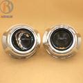 2 5 inch HID Bi Xenon H1 Projector Headlights Lens for Porsche 3 0 Cover Small