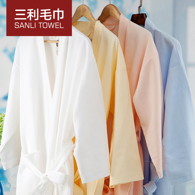2016 fabric lighter color beach towel /bath towel bath clothing for men and women/colorful 100% cotton bathrobe for lovers(China (Mainland))