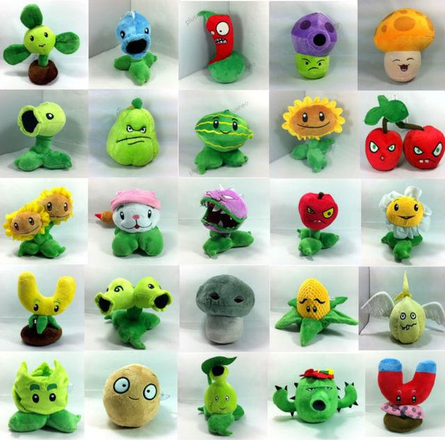 wholesale Plants vs Zombies Plush Toys Cute Soft Plush Stuffed Doll High Quality Best Gift