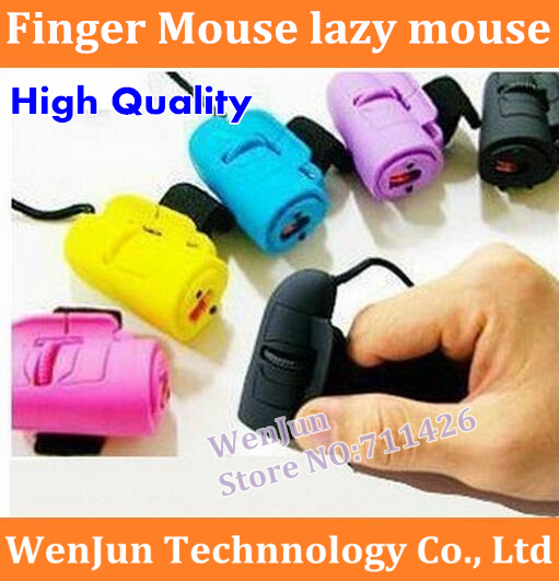 5pcs/lot Free Shipping 3D Optical Finger Mouse lazy mouse computer accessories novelty mouse High Quality(China (Mainland))
