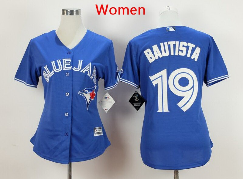 19 Jose Bautista blue women