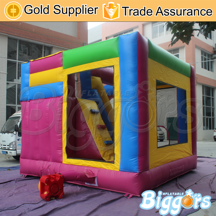 YARD Inflatable Bounce House with Slide Kids Jumping Castle 0.55MM PVC Commercial Grade in Stock(China (Mainland))