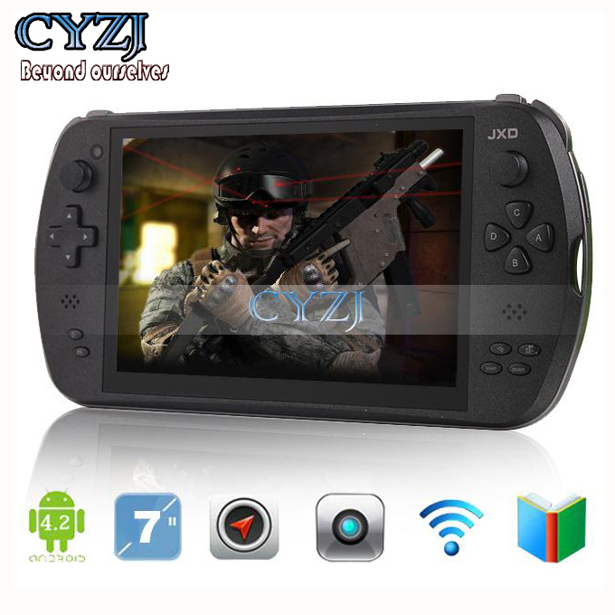 """7"""" Quad Core Game Console Player tablet pc JXD S7800B S7800 gamepad Android 4.4.4 2G RAM 16GB 1280X800 IPS Dual Camera(China (Mainland))"""