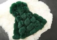 новые милые зимние пальто женщин мода пальто всю кожуру искусственного fox меховой жилет полноценного Каппа мех пальто досуг женщин пальто nz016