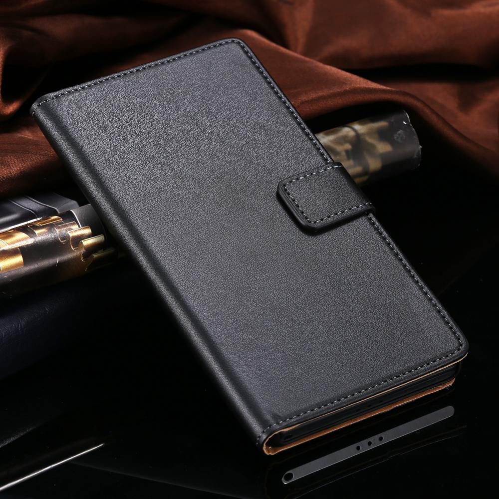 Гаджет  Vintage Wallet With Stand Genuine Leather Case for Sony Xperia Z2 C770x Retro Phone Luxury Cover Bags Brown Black  YXF03923 None Телефоны и Телекоммуникации