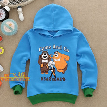 Boys Girls Hooded autumn children's clothing children long-sleeve the whole network children's clothing long-sleeve T-shirt(China (Mainland))