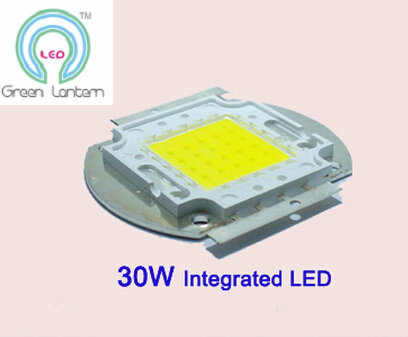 30W integrated high power led light source 30w cob led moudle with Bridgelux chip free shipping(China (Mainland))