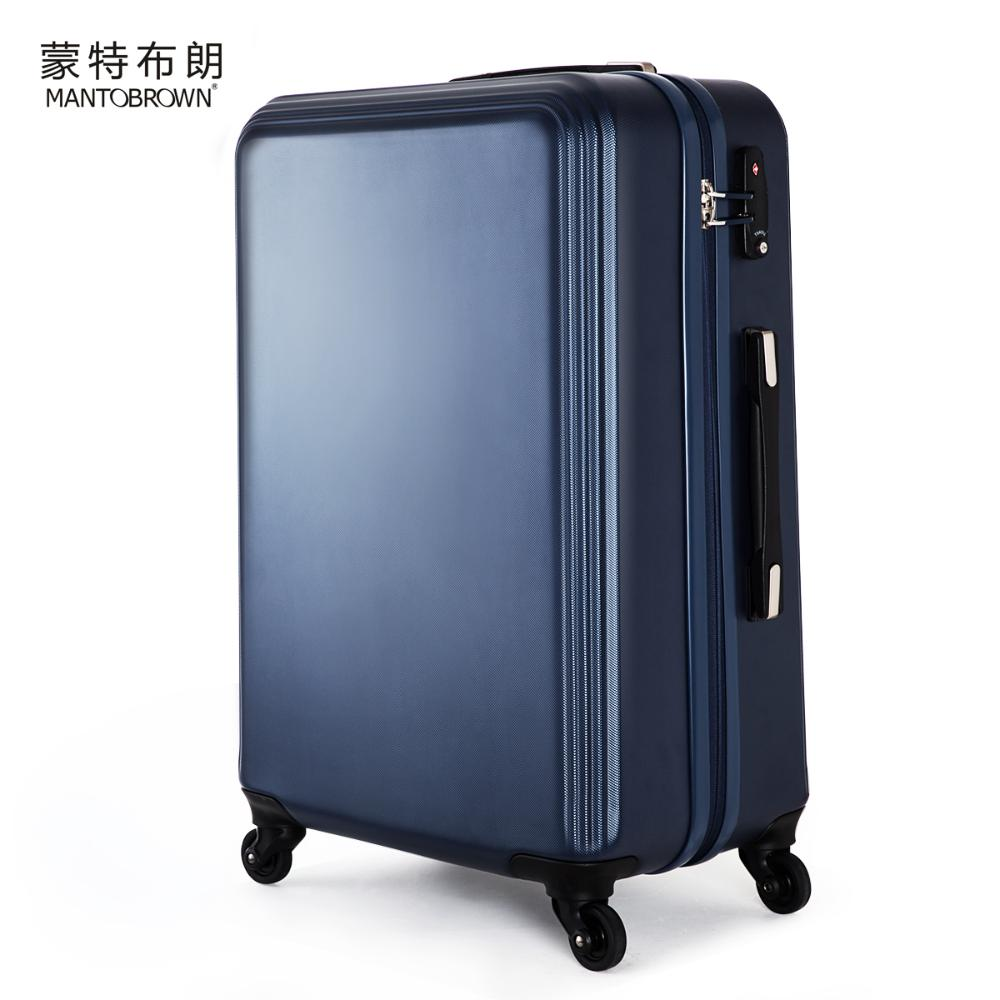 MANTOBROWN 2014 ABS Trolley Caster Scratch-resistant Suitcases Travel Bags For Men and Women Boarding Lockbox Suitcase<br><br>Aliexpress