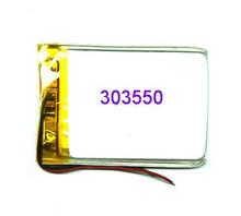 Ультратонкий полимерный аккумулятор завода прямого модель 303550 MP3 MP4 MP5 запчасти