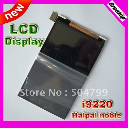 "HK post Free shipping Factory Original LCDs display screen replacement for haipai noble i9220 5.3"" mtk6575 smart phone"
