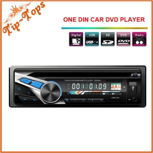 One Din Headunit Car DVD Player VT-510 CD Player Universal USB/SD FM Transimitter Fix Panel Car 1 Din CD Player(China (Mainland))