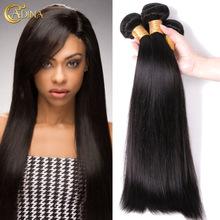 Brazilian Virgin Hair Straight 3 Bundle Deals 7A Unprocessed Virgin Brazilian Hair Weave Bundles100% Cheap Human Hair Extensions(China (Mainland))