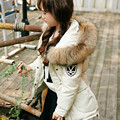 2016 new children winter Down Jackets Duck down Medium and long Girls down jacket Thickening of