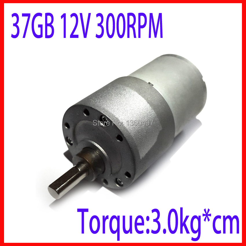 37gb 37mm 12v 300rpm electric boat motor high torque gear for 300 rpm high torque dc motor