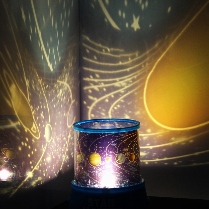 fashion Romatic magical universe stars can flash LED Starry Night Light Lamp Projector Powered for bedroom as gift to children(China (Mainland))