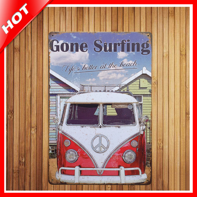 gone surling band chic home bar vintage metal signs home decor vintage tin signs pub vintage