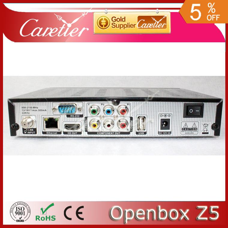 5pc Original openbox Z5 Satellite Receiver HD 1080p dvb-s2 support usb wifi youtube iptv weather google 3G GPRS freeshipping DHL(China (Mainland))