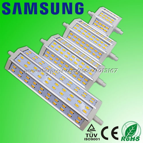 4pcs lot samsung led r7s 78mm 10w r7s led 118mm 15w 135mm for R7s led 78mm 20w