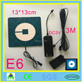 Uber el flashing car sticker glow car sticker on can window with 2AA battery inverter free