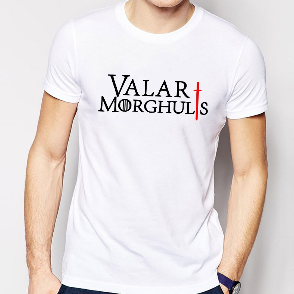 Game of thrones t shirts men cotton o neck man t shirt the for Throne of games shirt