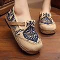 2017 New Round of The Old Beijing Shoes Cotton and Linen Mixed Colors Spring Shoes Shallow