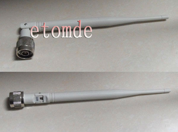 free shipping wholesale DCS antenna 1800MHZ rubber whip antenna 5dBi N Male connector indoor antenna(China (Mainland))