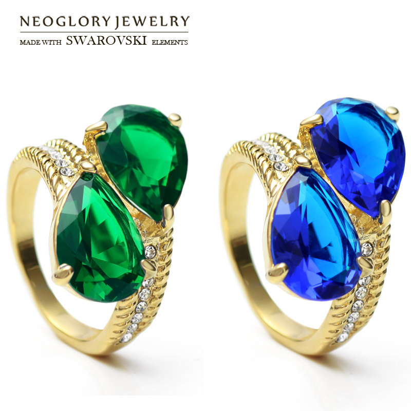 Buy neoglory austria rhinestone zircon for Wholesale 14k gold jewelry distributors