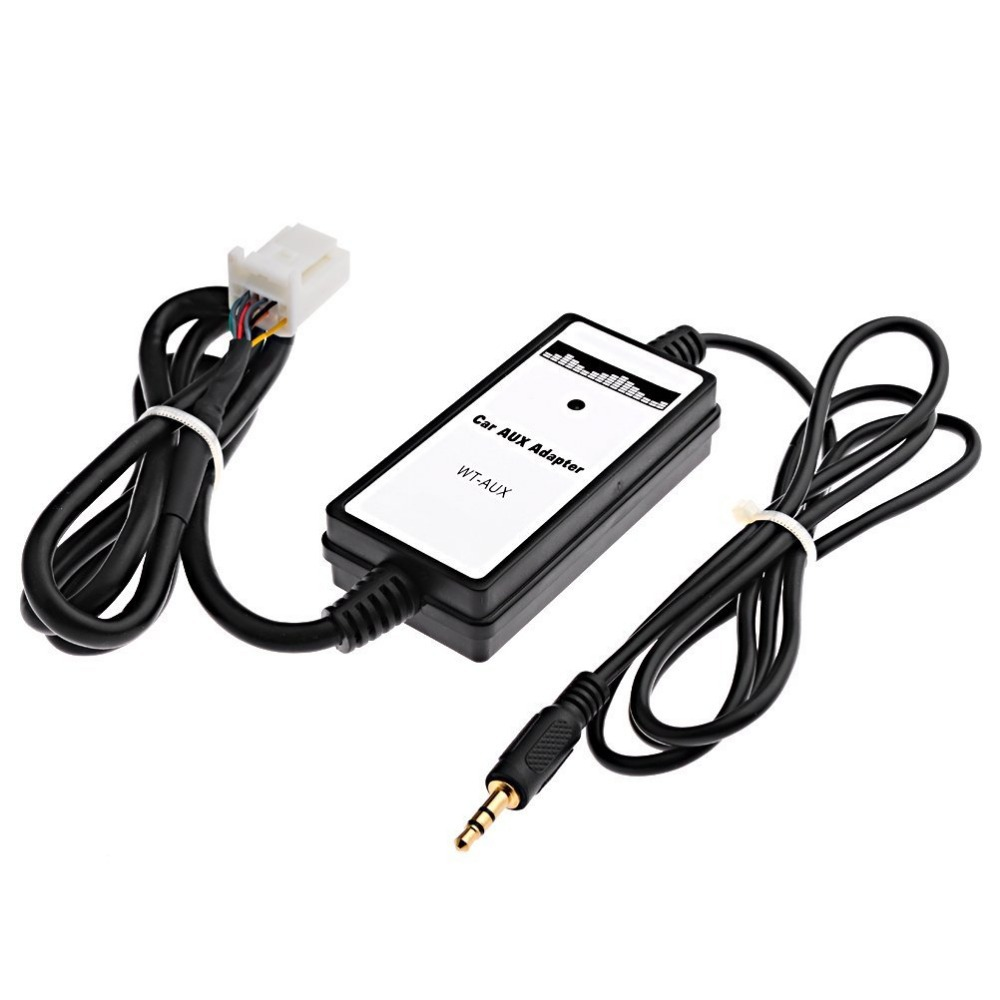 53360 Audio Input Toyota Corolla on iphone 4 to aux adapter