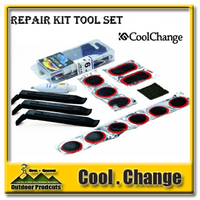 Brand New Bike Bicycle Flat Tire Repair Kit Tool Set Kit Patch Rubber Portable Fetal Best Quality Free Shipping
