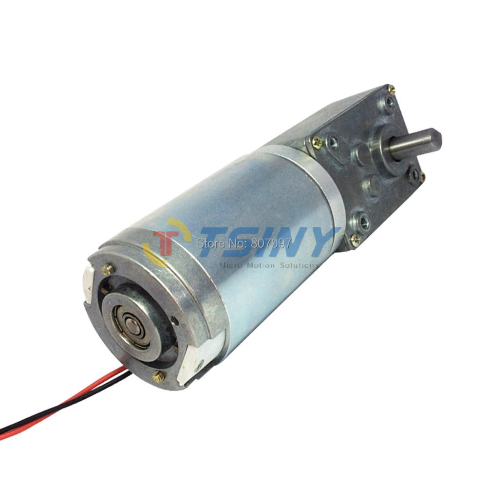 44mm Dc Gear Motor 12v 65rpm High Torque Dc Gear Box Motor