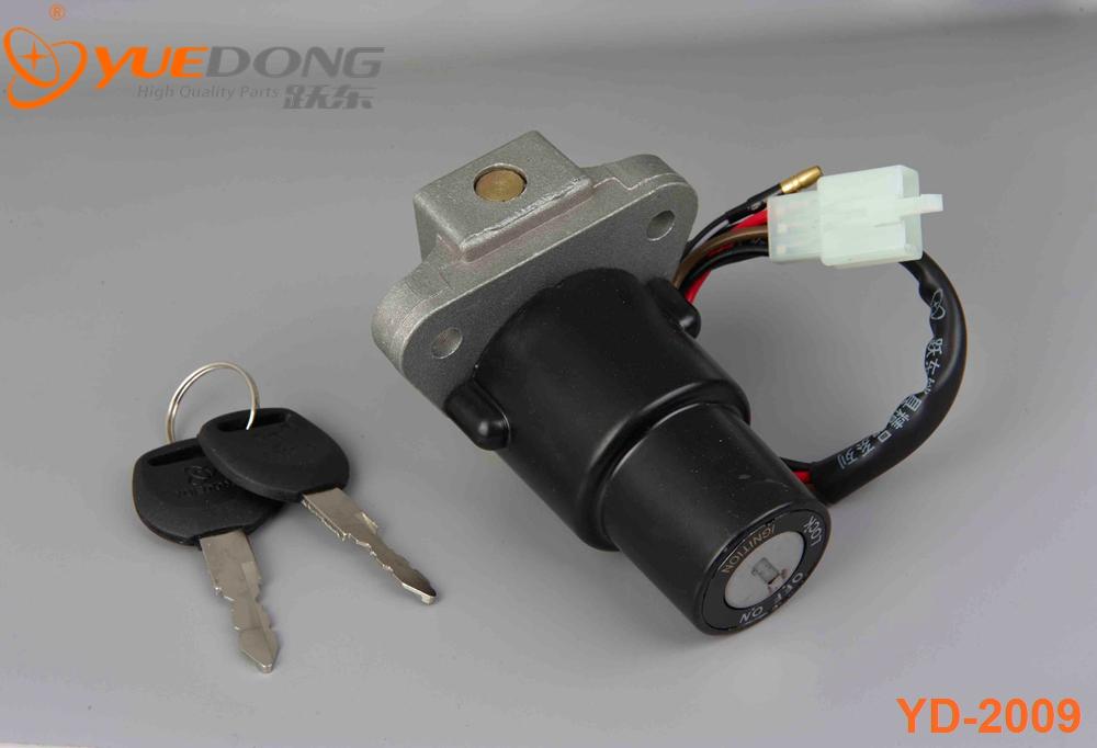 YUEDONG High Quality SRZ125 motorcycle ignition switch lock for honda for Yamaha Suzuki Kawasaki BAJAJ KTM Dirt Bike ATV Scooter(China (Mainland))