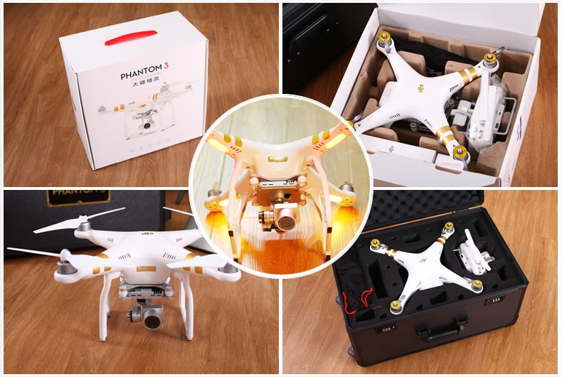 In Stock Ready To Fly DJI Phantom 3 Professional Version With 4K Camera RC Quadcopter