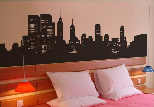 New York Behang Slaapkamer : Online kopen Wholesale korea behang ...